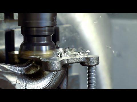Machining of turbo exhaust housings - Sandvik Coromant