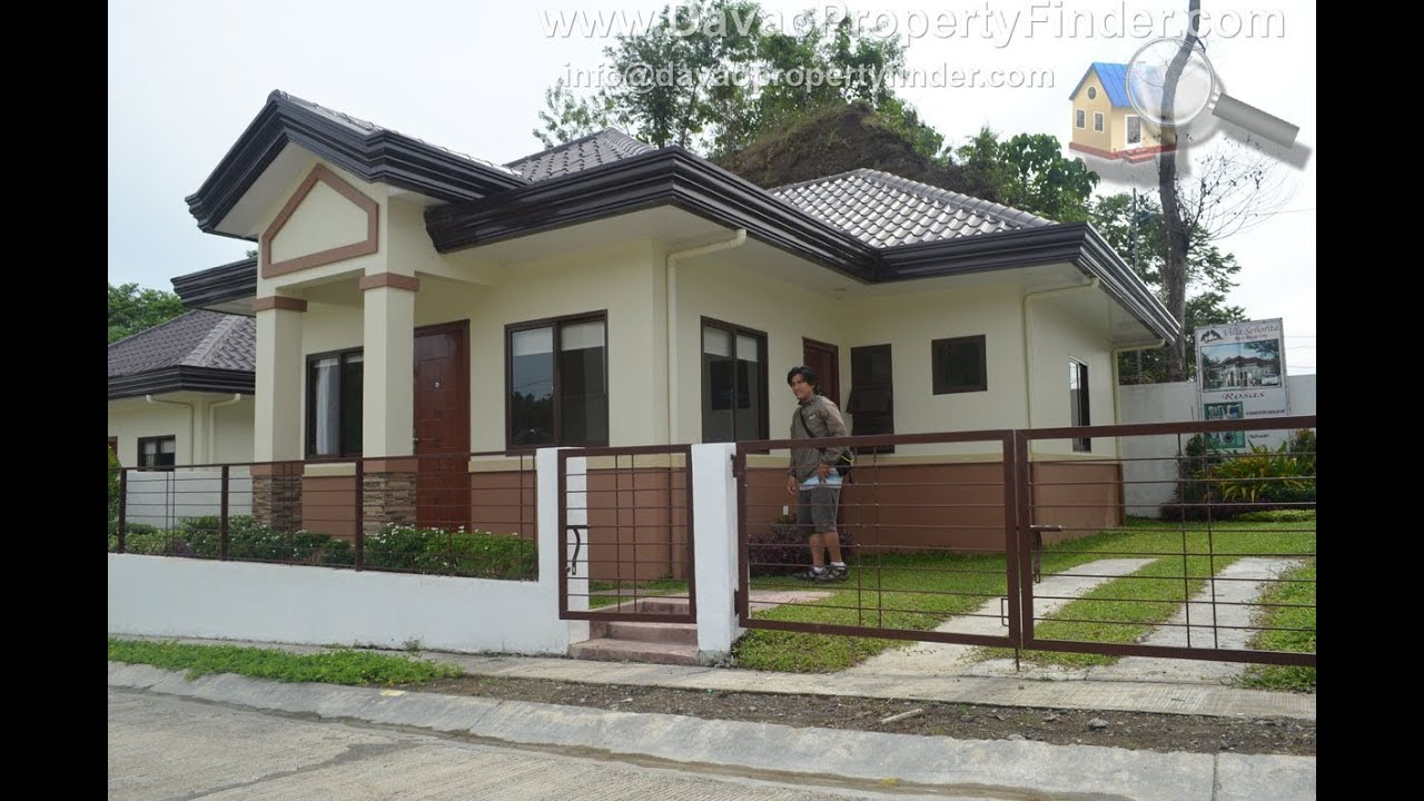 Rosas house villa senorita subdivision davao city youtube for Subdivision house plans