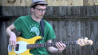 T.Rex - Jeepster (bass cover)