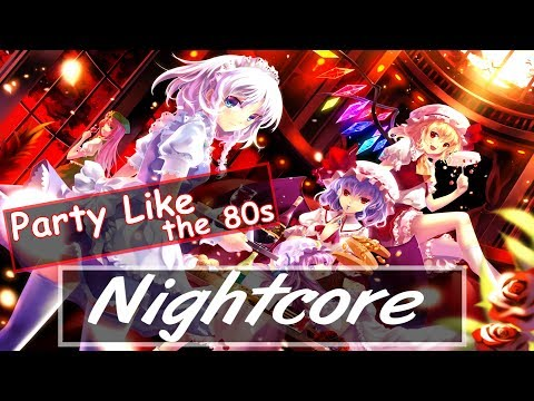 NEFFEX - Party Like the 80s ♫Nightcore♫ [No Copyright]