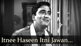 Itnee Haseen Itni Jawan - Sunil Dutt - Nanda - Aaj Aur Kal - Romantic Bollywood Songs - Mohd Rafi