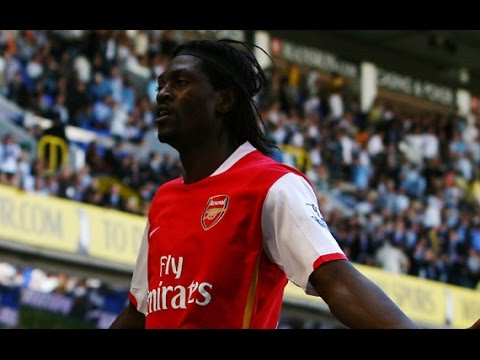 Emmanuel Adebayor - All Goals for Arsenal - 2006/2009