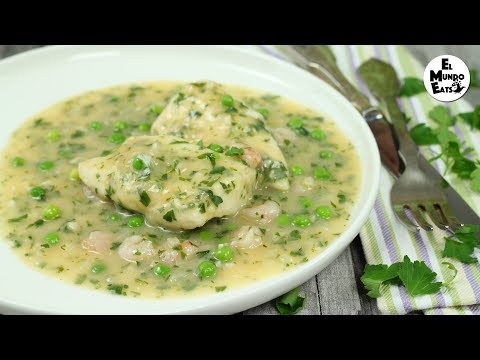 Fish In Salsa Verde   Spanish Recipe