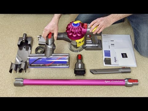dyson-v7-motorhead-cordless-vacuum-cleaner-first-look-&-quick-demo