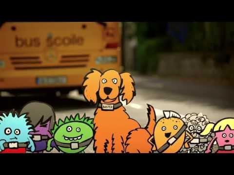Buster agus na Beltups – Sábháilteacht Scoile Bus Éireann
