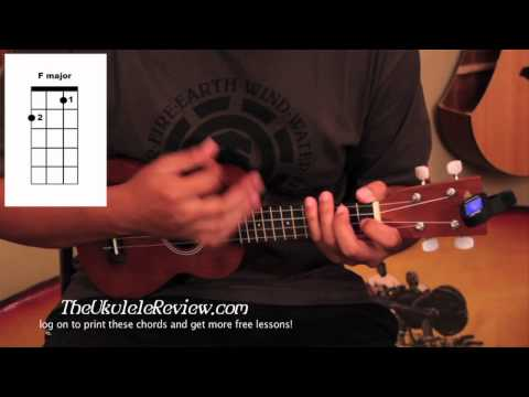 Ukulele Chords To Somewhere Over The Rainbow And Hey Soul Sister
