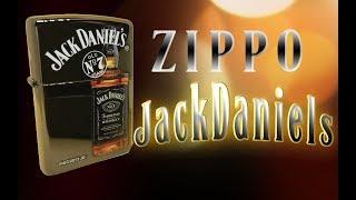 Видео обзор зажигалки Zippo -  Jack Daniels Old no  7