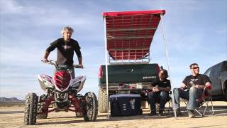 Shark Kage Sun Shade Configuration - Pickup Truck Cargo Accessories