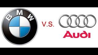 Audi VS BMW. Полный привод.
