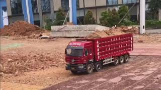 Tổng hợp các pha chở hàng quá tải Truck 1/14 Vietnam