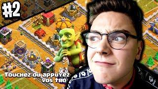 CLASH OF CLANS - ON DETRUIT LES GOBELINS #2 On Détruit 2 bases dans la meme vidéo !