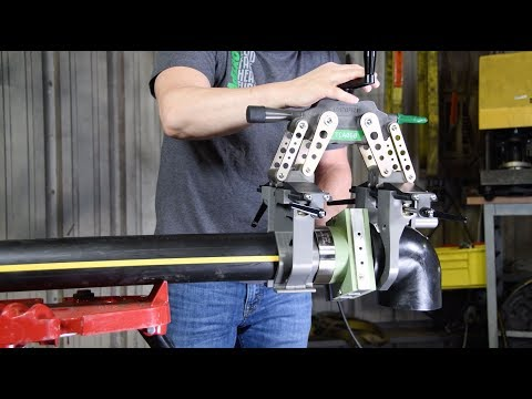 Heating And Fusing HDPE Pipe & Fittings With The Spider™ 125 Series 2