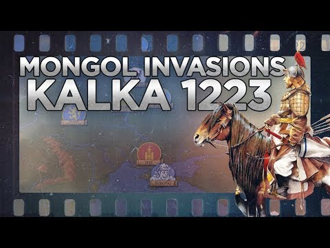 Mongols: Expedition of Subutai and Jebe - Battle of Kalka 1223 DOCUMENTARY