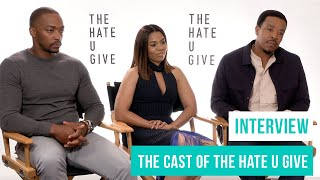 The Hate U Give (2018): Interview with Anthony Mackie, Regina Hall & Russell Hornsby