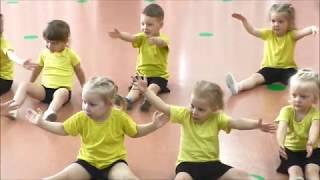 Хореография Открытый урок  в детском садике №3 Третье королевство младшая группа Крохи Среднеуральск