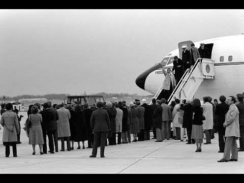 From the Vault: Iran Hostages Released