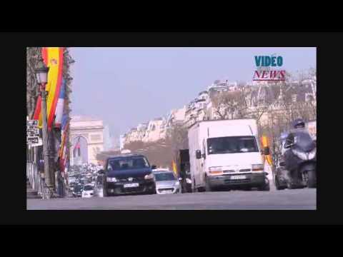 Road space rationing in Paris