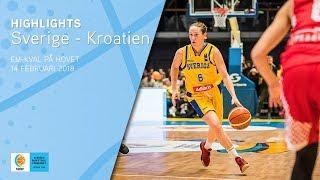Highlights: Sverige-Kroatien (EM-kval!)