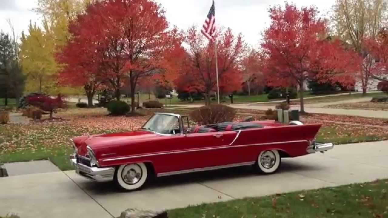1957 lincoln premiere convertible youtube. Black Bedroom Furniture Sets. Home Design Ideas