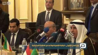 مصر العربية | وزير العدل الكويتي: الرقابة الشعبية قوة تحد من الانظمة الاستبدادية