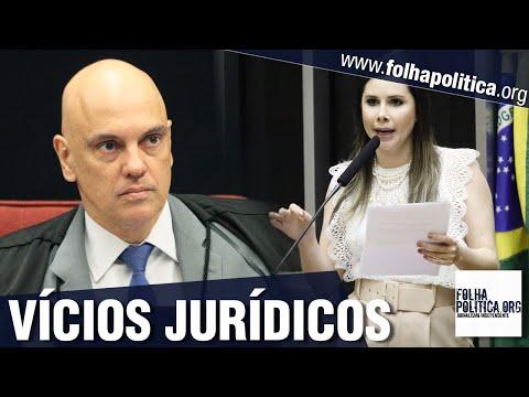 Deputada aliada de Bolsonaro mostra vícios jurídicos no inquérito conduzido por Alexandre de Moraes
