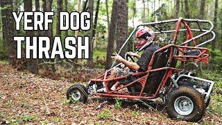 Yerf Dog GY6 Axle Install + Thrash!