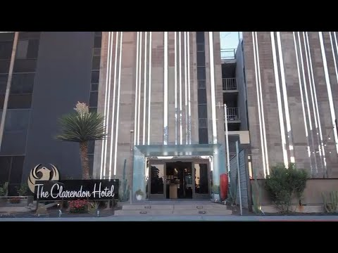 The Clarendon Hotel and Spa in Phoenix Arizona - COMMERCIAL