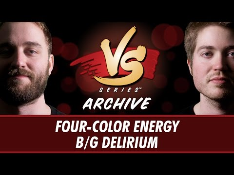 11/24/16 - Ross VS. Majors: Four-Color Energy vs. B/G Delirium [Standard]