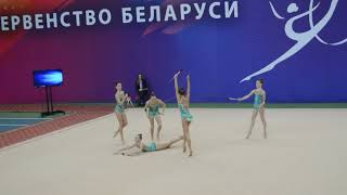 Групповое 10 булав, 2003-2005, команда Динамо