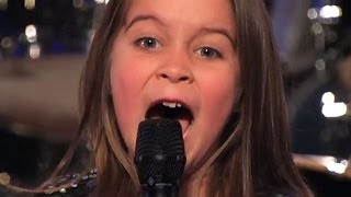 Une fille de SIX ANS à chanter dans la musique HEAVY METAL at Amérique a du talent