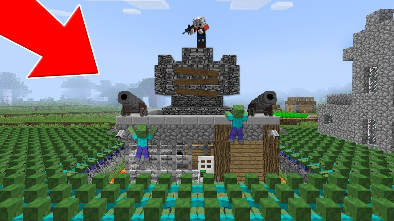 ZOMBÄ° SALGINI #1 - Minecraft Film