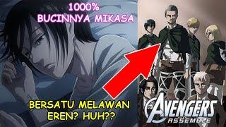 Galaunya Mikasa & Terbentuknya Team Untuk Melawan Eren..!! [Review Chapter 126 Attack on Titan]