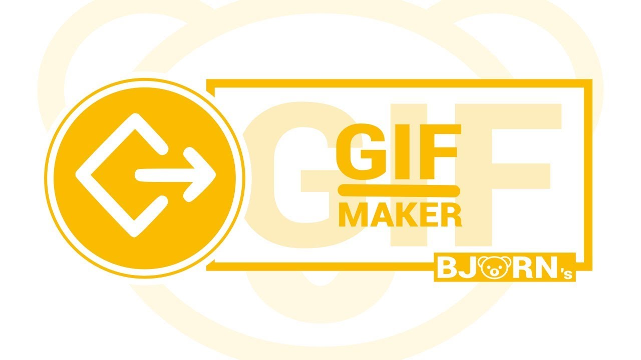 Bjorn's GIF-maker, an add-on for Google Slides