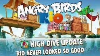 Angry Birds Rio 2 - High Dive Walkthrough Level 11-13 All Stars