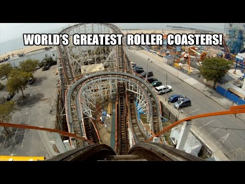 World's Best Roller Coasters! Ten AWESOME Coasters Part 2