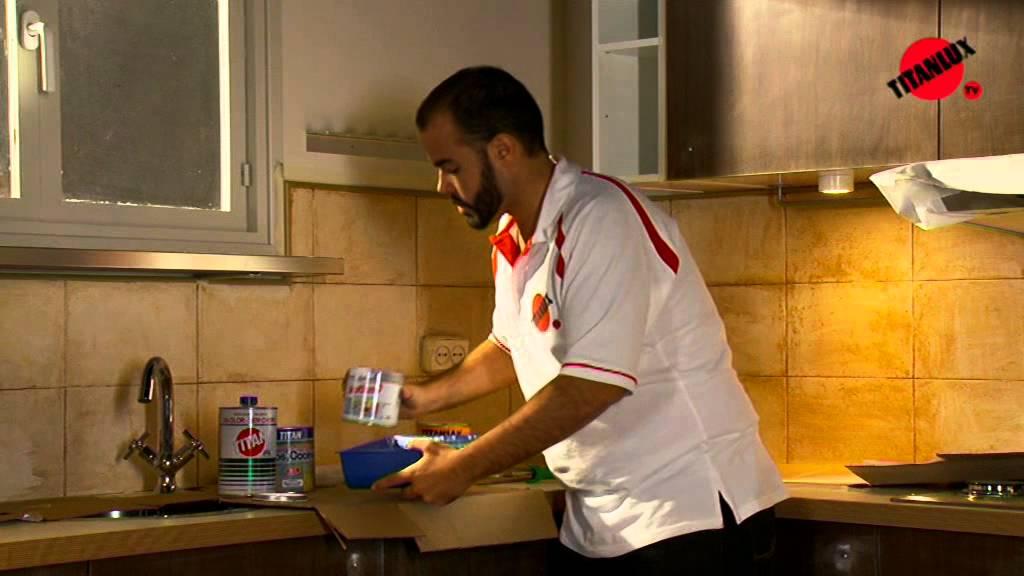 Reformar una cocina con Titanlux - Bricor - YouTube