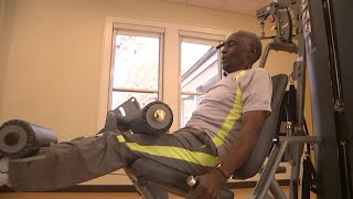 99-Year-Old STILL Works Out | Pumped