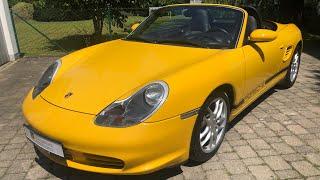 2002 porsche boxster s 986 | start up | exterior | interior | POV test drive