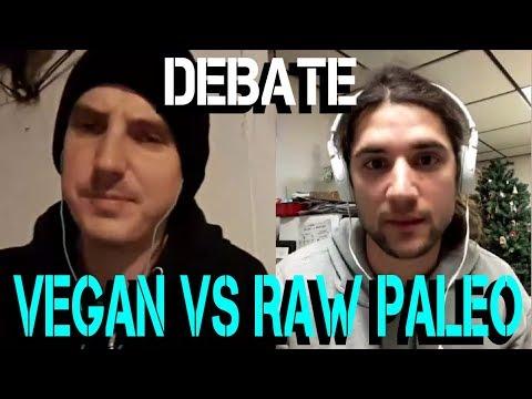 DEBATE : VEGAN / FRUITARIAN VS MEAT EATER / RAW PALEO - LOGAN BLAKE VS SULLY ABU