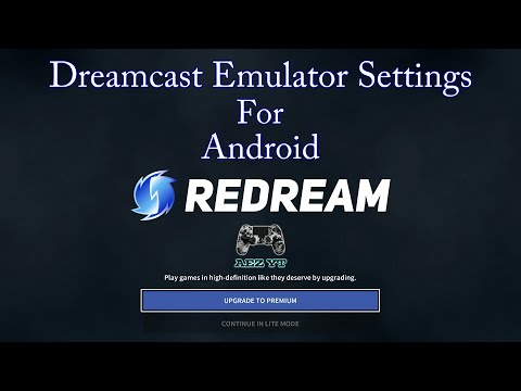 Redream Android Dreamcast Emulator Settings (No Need Bios)