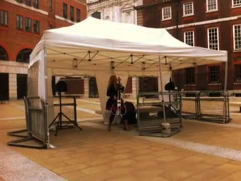 Lizzy May at Paternoster Square