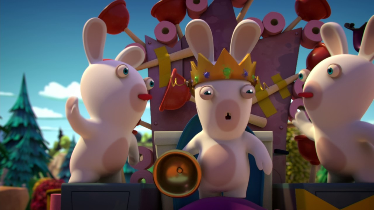 Les lapins cr tins invasion dans la peau d 39 un lapin 2 s2e35 youtube - Lapin cretin image ...