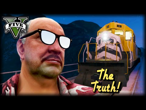 The Truth About GTA Train Drivers : GTA V Short Film