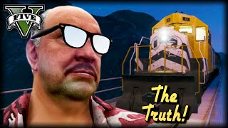The Truth About GTA Train Drivers : GTA V Short Film