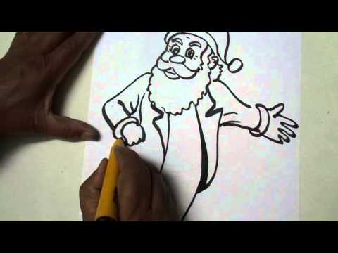 How to Draw Christmas Pictures