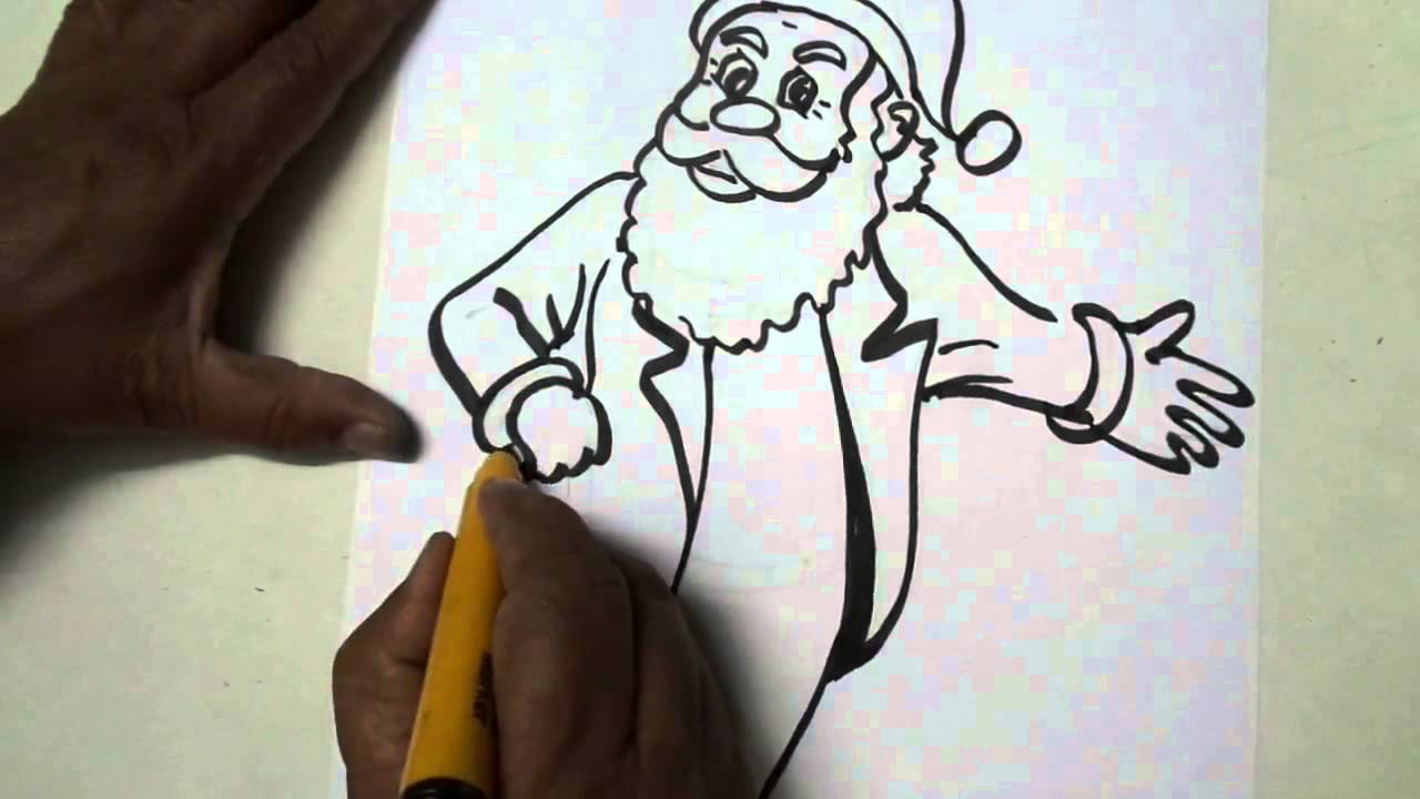 how to draw youtube christmas