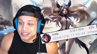 TYLER1: MY IRELIA WIN RATE?