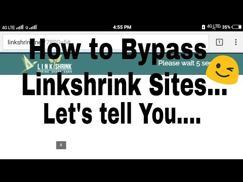 How to by pass link shrink sites must watch the full video to  understand