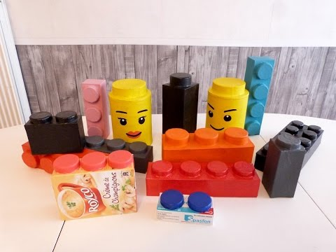 tuto n 1 brique lego en papier m ch mathilde d creations youtube. Black Bedroom Furniture Sets. Home Design Ideas