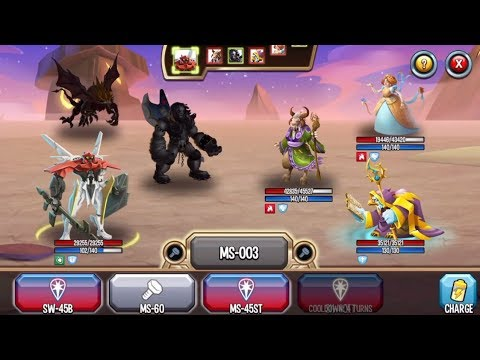 Monster Legends : ML-1 YAMATO level 1-130 review combat arena